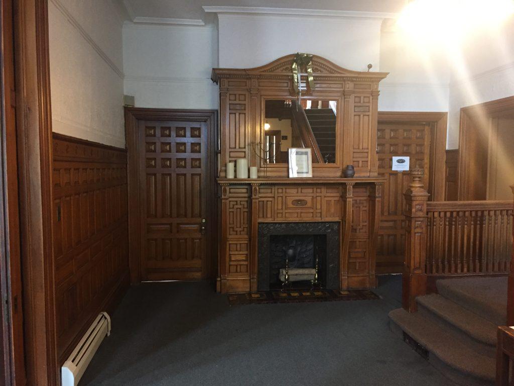 1st floor of the James Hooper House